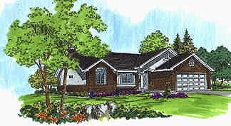 Traditional House Plan 70534 Elevation