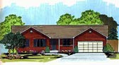 Plan Number 70536 - 1436 Square Feet