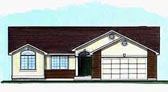 Plan Number 70537 - 1452 Square Feet