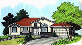 Plan Number 70539 - 1501 Square Feet