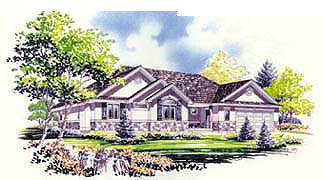 Traditional House Plan 70540 Elevation
