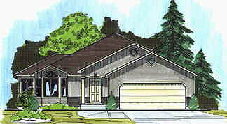 Contemporary House Plan 70541 Elevation