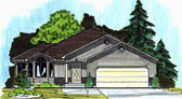 Plan Number 70541 - 1530 Square Feet
