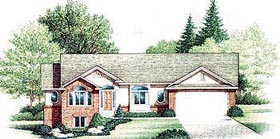 Traditional House Plan 70547 Elevation