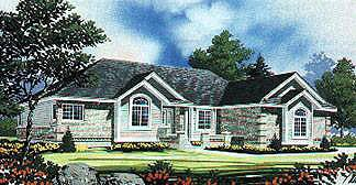 Traditional House Plan 70549 Elevation