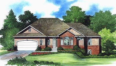 Traditional House Plan 70550 Elevation