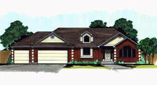 Traditional House Plan 70551 Elevation