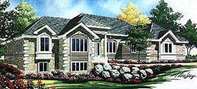 Contemporary House Plan 70552 Elevation