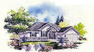Traditional House Plan 70553 Elevation