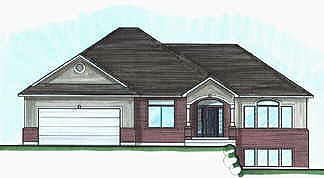 Traditional House Plan 70556 Elevation