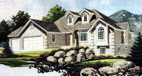 Traditional House Plan 70557 Elevation