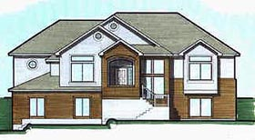 Traditional House Plan 70558 Elevation