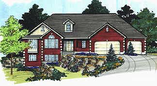 Traditional House Plan 70559 Elevation