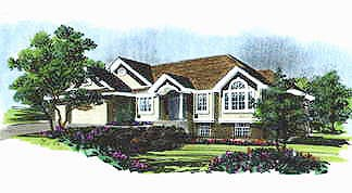 Traditional House Plan 70560 Elevation