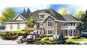 Traditional House Plan 70561 with 2 Beds, 2 Baths, 2 Car Garage Elevation