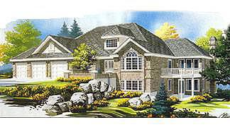 Traditional House Plan 70561 Elevation