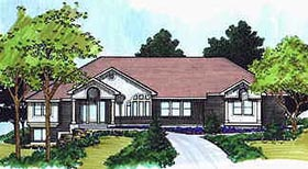 Traditional House Plan 70563 Elevation