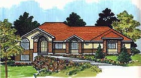 Traditional House Plan 70564 Elevation