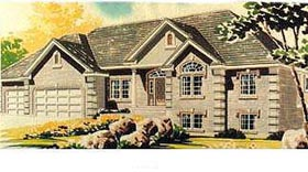 House Plan 70565 | Traditional Style House Plan with 2248 Sq Ft, 3 Bed, 3 Bath, 3 Car Garage Elevation