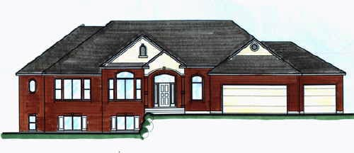 Traditional House Plan 70570 Elevation