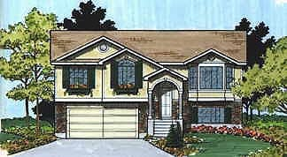 Traditional House Plan 70574 Elevation
