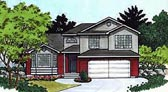 Plan Number 70575 - 1582 Square Feet