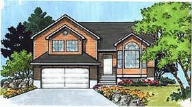 Plan Number 70576 - 1276 Square Feet