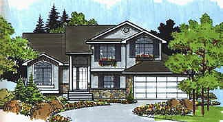 Traditional House Plan 70579 Elevation