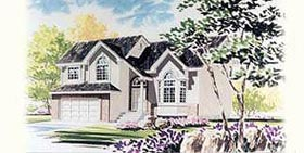 Traditional House Plan 70582 Elevation