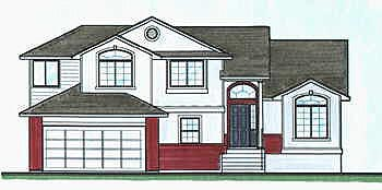 Traditional House Plan 70584 Elevation