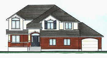 Traditional House Plan 70585 Elevation