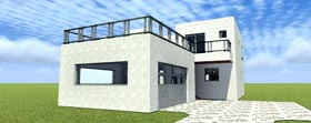 Florida Modern House Plan 70805 Elevation