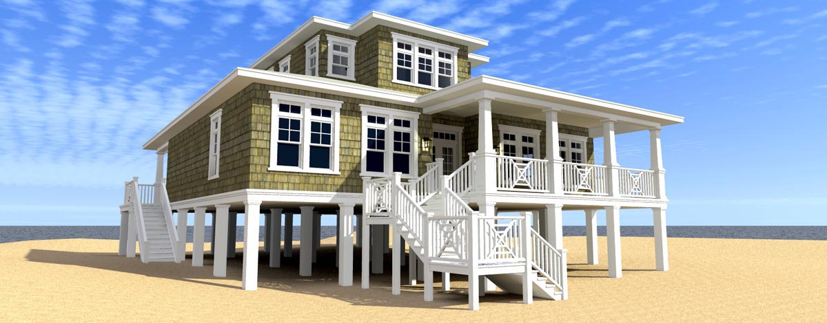 Click here to see an even larger picture coastal house plan