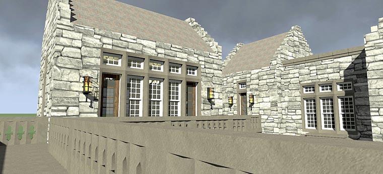 European House Plan 70809