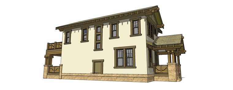 Craftsman House Plan 70815
