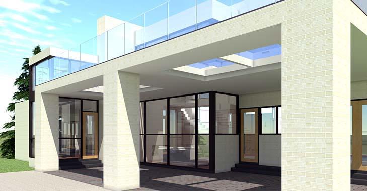 Modern House Plan 70819