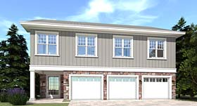 House Plan 70833 | Farmhouse Traditional Style Plan with 3036 Sq Ft, 5 Bedrooms, 4 Bathrooms, 3 Car Garage Elevation