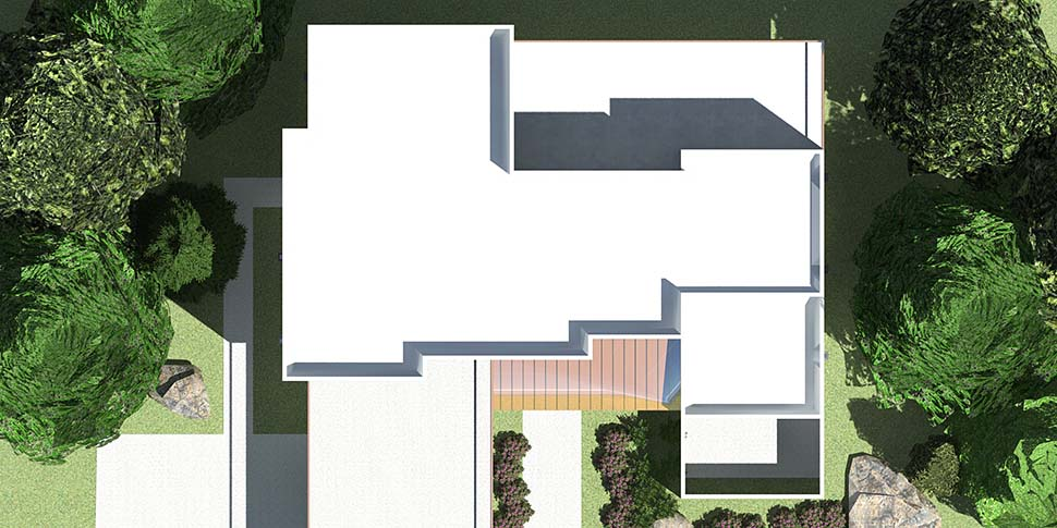 Contemporary, Modern House Plan 70850 with 4 Beds, 4 Baths, 2 Car Garage Picture 9