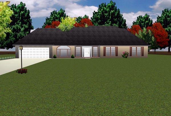 House Plan 70938