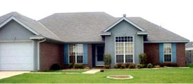 Traditional House Plan 71406 Elevation
