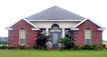 Traditional , Elevation of Plan 71407
