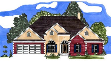 Victorian House Plan 71429 Elevation