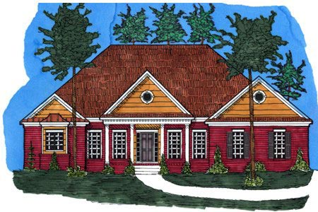Victorian House Plan 71436 Elevation