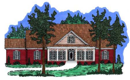 Country House Plan 71442 Elevation
