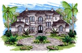 Plan Number 71503 - 7395 Square Feet