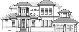 Florida House Plan 71519 Elevation