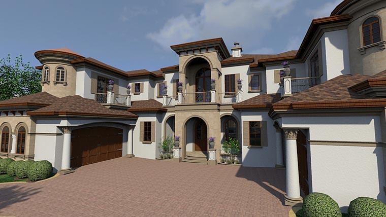 Florida Mediterranean House Plan 71527 Elevation