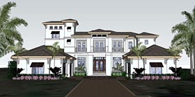 Florida Mediterranean House Plan 71529 Elevation