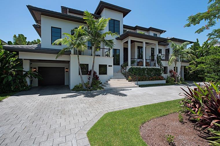 Florida, Mediterranean House Plan 71530 with 4 Beds, 8 Baths, 6 Car Garage Elevation