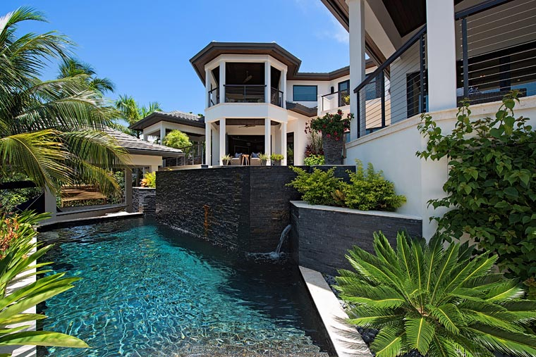 Florida, Mediterranean House Plan 71530 with 4 Beds, 8 Baths, 6 Car Garage Picture 3